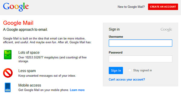 Gmail Login Problem and How to Solve It